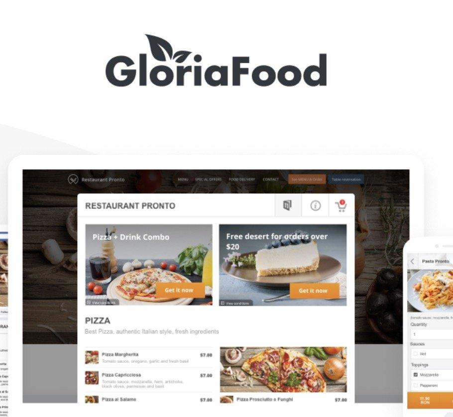 gloria food app