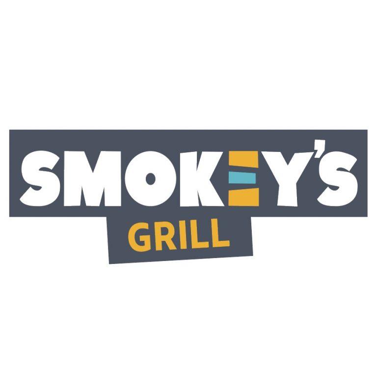 smokey's grill logo design